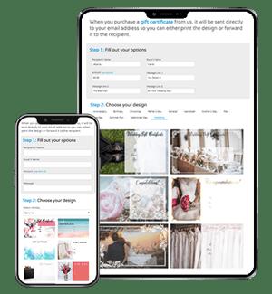 Online Gift Card Sales