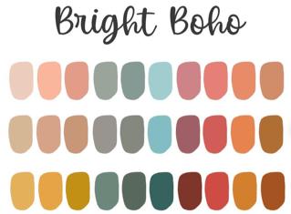 Boho Color Palette